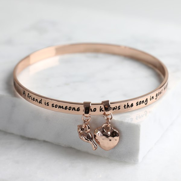 34440 'FRIEND' MEANINGFUL WORD BANGLE ROSE GOLD.jpg